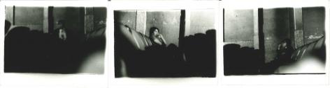 Miguel Ángel Rojas. Serie Faenza: Los Olores, [Incomplete set 3 of 4], 1979. Vintage silver gelatin prints, 3 1/2 x 5 in. (8.9 x 12.7 cm.) each