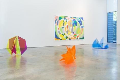 Marta Chilindron & Graciela Hasper, Dialogues, Installation view, 2014.