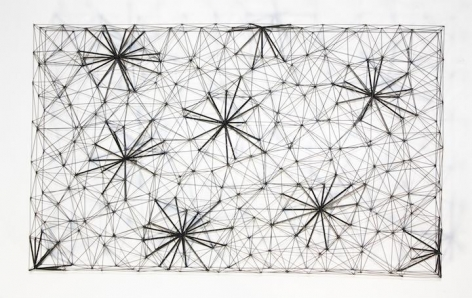 Mariano Dal Verme, Untitled, 2014. Graphite, paper, 21 in. x 29 in. x 4 in.