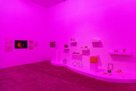 Museum of Contemporary Art in Monterrey (MARCO), 2020.Farsa y Artificio Installation view.