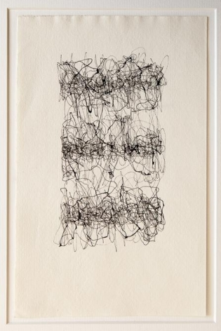 León Ferrari, Untitled, 1962. Ink on paper, 9 1/2 x 6 1/16 in. / 24 x 15.4 cm.