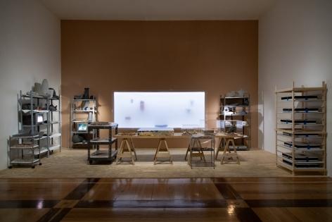 Museum of Contemporary Art in Monterrey (MARCO), 2020. Farsa y Artificio Installation view.
