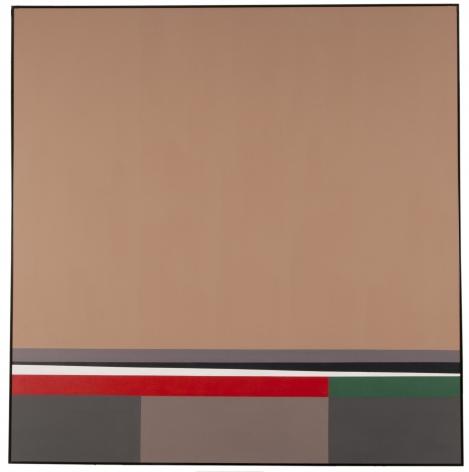 Mercedes Pardo Ponte,Movimiento íntimo, 1983, Acrylic on canvas, 47 7/32 x 47 7/32 in. (120 x 120 cm.)