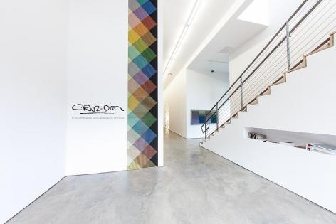 Carlos Cruz-Diez, Installation view, 2012, © Laura Burlton Photography.