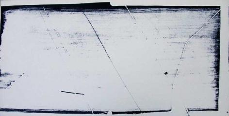 Gego, Untitled, 1966. Lithograph on cardboard, 33.3 x 63 cm.