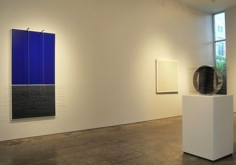 Jesús Rafael Soto, Luis Tomasello, Sicardi Gallery installation view, 2010