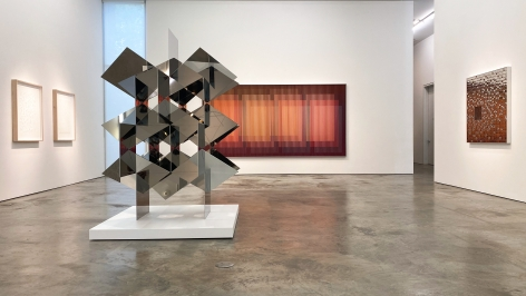 Installation view of the exhibitionDialoguesat Sicardi | Ayers | Bacino.,