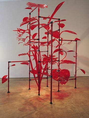 Thomas Glassford, Jungala, 2011, Acrylic, Plexiglas and aluminum, Dimensions Variable