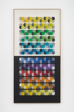 Manuel Espinosa,Variación Cromática, 1966, Oil on canvas,94 7/16 x 47 3/16 in.