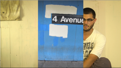 Lorenzo Bueno, A Tour of the Monument of the 4th Avenue F and G Platform, 2013. Performance.
