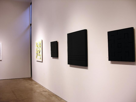 Luis Tomasello, Sicardi Gallery installation view, 2007