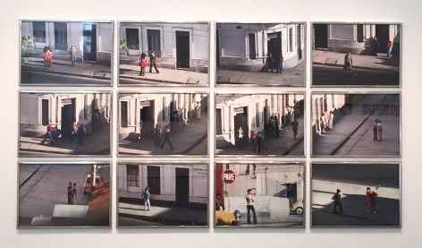 Miguel Ángel Rojas, La Esquina Rosada (Edition of 3 + 2AP), 1975/2015. Inkjet print from color transparency on 300 gr. Hahnemühle cotton papers, 23 5/8 x 15 3/4 in. (each)