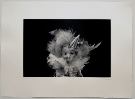 Liliana Porter, Lulu, 2009. Solar print, 22 1/2 in. x 31 in.