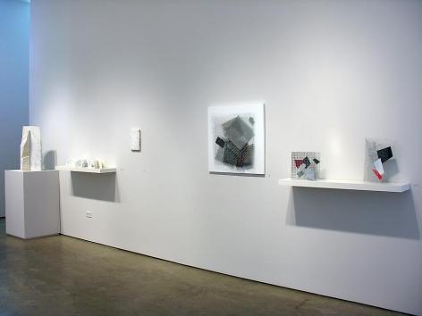 Marie Orensanz, Arthur Luiz Piza, Marked Pages, Sicardi Gallery installation view, 2006