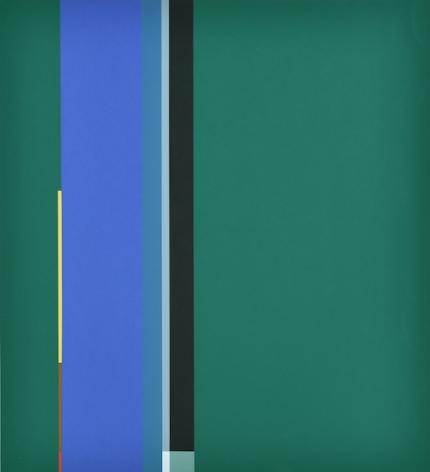 Mercedes Pardo Ponte,Untitled Ed. 5/25, 1986, Serigraph on paper, 39 5/16 x 27 9/16 in. (100 x 70 cm.)