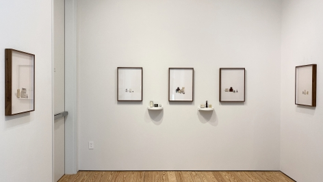Liliana Porter, For Sale series, installation view.