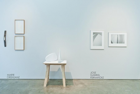 Marked Pages III, Marie Orensanz and Jose Gabriel Fernandez, Sicardi Gallery installation view, 2011