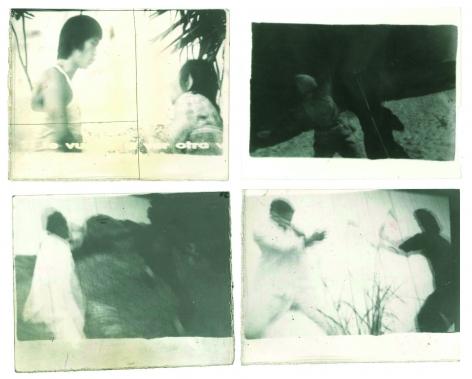 Miguel Ángel Rojas. Serie Faenza: Cinema Stills [Five Fingers of Fury, The Last Cowboy, Bad People dressed in black, Bruce Lee], 1979. Vintage silver gelatin prints, 3 1/2 x 5 in. (8.9 x 12.7 cm.) each