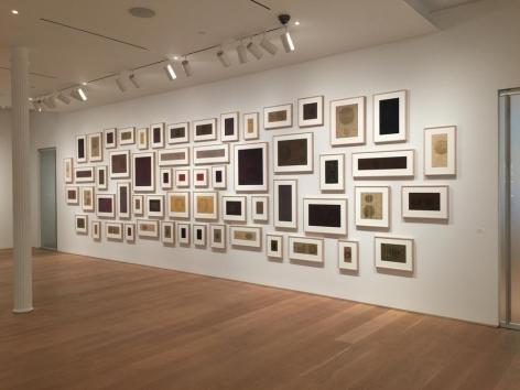 Gabriel de la Mora, Sound Inscriptions on Fabric, installation view. The Drawing Center, New York, July 15 - September 2, 2016