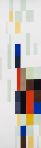 Alejandro Otero, Tablón 32 [Plank 32], 1988. Industrial enamel on wood, 78 11/16 x 21 5/8 in.