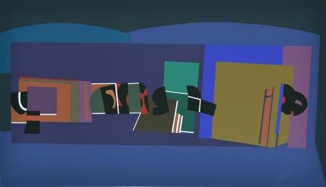 Mercedes Pardo Ponte,Untitled AP, 1998, Serigraph on paper, 25 x 35 13/16 in. (63.5 x 91 cm.)