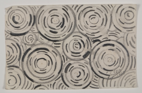 Antonio Asis, Untitled, 1960, Graphite on paper, 3 1/2 x 5 7/16 in. (8.9 x 13.9 cm.)