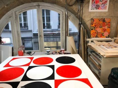 Antonio Asis's Studio, 2018.