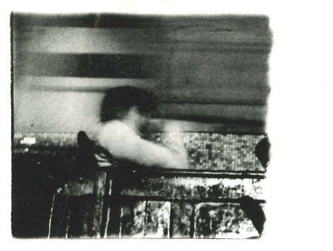 Miguel Ángel Rojas. Serie Faenza: Balcony, Incomplete Set, 1979. Vintage silver gelatin print, 3 1/2 x 5 in. (8.9 x 12.7 cm.)