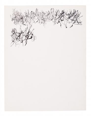 León Ferrari, Sin Título, 1976. Ink on paper, 8 5/8 x 7 3/8 in. (21.9 x 18.7 cm.)