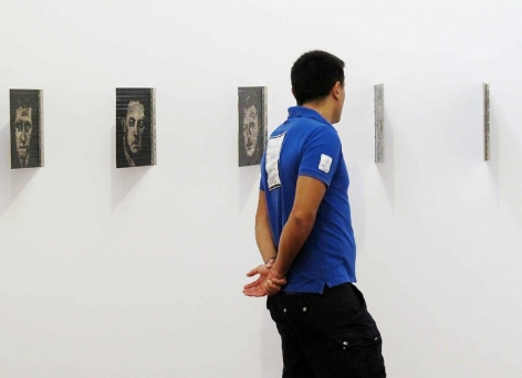 Pedro Tyler, installation view, 2013.