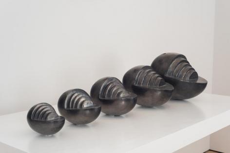 Miguel Angel Ríos, Pizac series (Edition of 2), 1986. Oaxaca ceramic, variable dimensions.