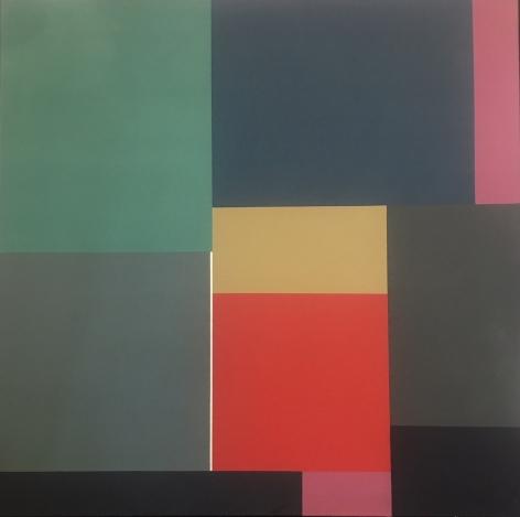 Mercedes Pardo Ponte,Untitled, 1976, Acrylic on canvas, 47 3/16 x 47 3/16 in. (120 x 120 cm.)