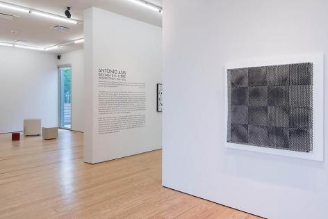 Antonio Asis, Geometría Libre, Installation view, 2014.