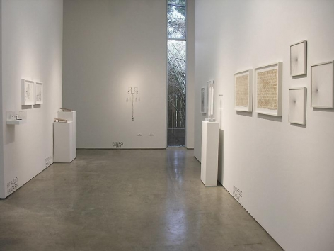 Marked Pages III, Sicardi Gallery installation view, 2011