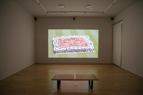 Melanie Smith, Project Video 2015, Installation view, 2015.