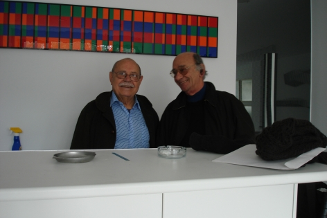 Antonio Asis and Francisco Sobrino, Paris.