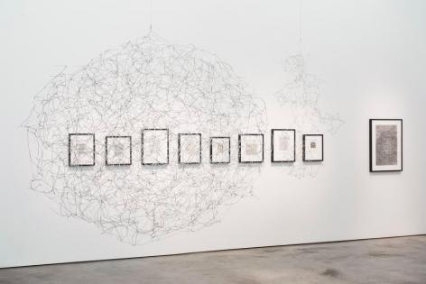 León Ferrari, To Write, Installation view, 2015.