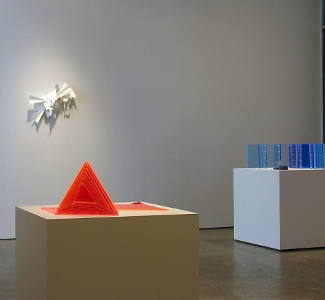 Installation view at Sicardi Gallery. Group Show, 2010.