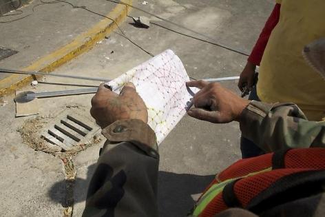 Thomas Glassford, Xipe Totec, 2010, Tlatelolco University Cultural Center (CCUT), UNAM, Mexico City, Mexico