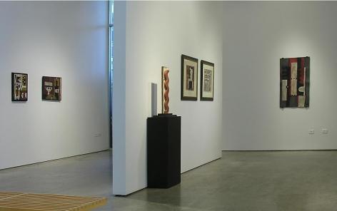 Constructivism in Relief, Taller Torres García, Sicardi Gallery installation view 2009