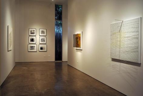 Luis Tomasello, Geraldo de Barros, Antonio Asis, Jesús Rafael Soto, Sicardi Gallery installation view, 2010