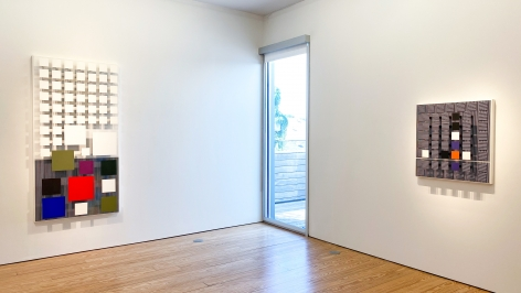 Jesús-Rafael Soto, Perception: Works from 1964 - 1992 installation view at Sicardi Ayers Bacino, 2020.