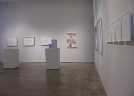 Miguel Angel Rojas, Marco Maggi, Sicardi Gallery installation view, 2008