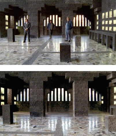 Alexander Apóstol with Rafael Ortega, Le Corbusier & Diego Rivera Has Meeting 30 Times, 2008, Video HD DVD, 10:00 minutes