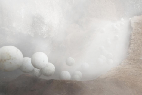 Miguel Angel Ríos, Piedras Blancas (Edition of 6 + 2AP), 2014. Video with sound, one channel wall projection, 4:52 min.