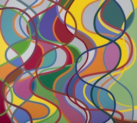 "Graciela Hasper, Untitled, 2011, Acrylic on canvas, 76.87"" x 80.7"""