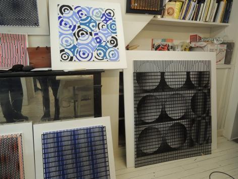 Antonio Asis's studio, 2014.