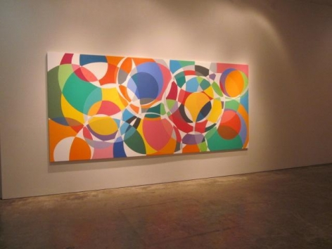 Graciela Hasper, Recent Paintings, Installation view, 2011.