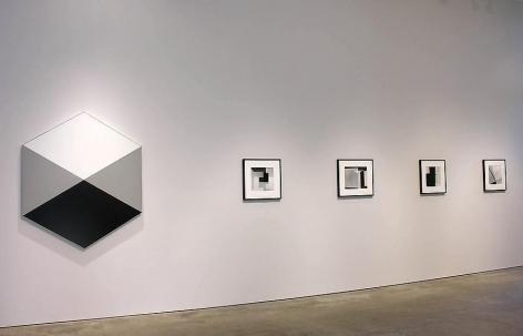 Geraldo de Barros, Sicardi Gallery installation view, 2008
