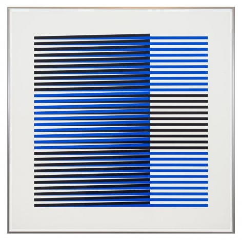 Carlos Cruz-Diez, Couleur additive, 1970-71. Silkscreen portfolio, 30 in. x 30 in. each, ed. 71/200.